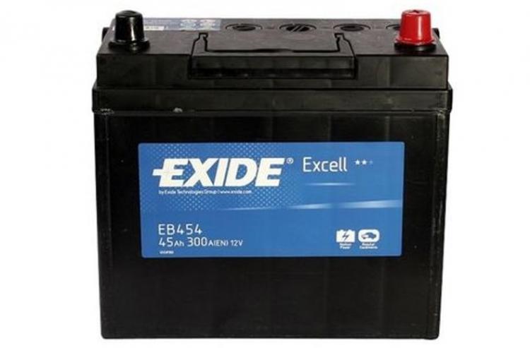 EXIDE EXIDE baterie 12V 45Ah, 300A, EXCELL EB454