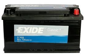 EXIDE EXIDE baterie 12V 90Ah, 720A, CLASSIC EC900