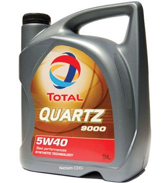 TOTAL Total Quartz 9000 5W40 5l. (148650) 148650