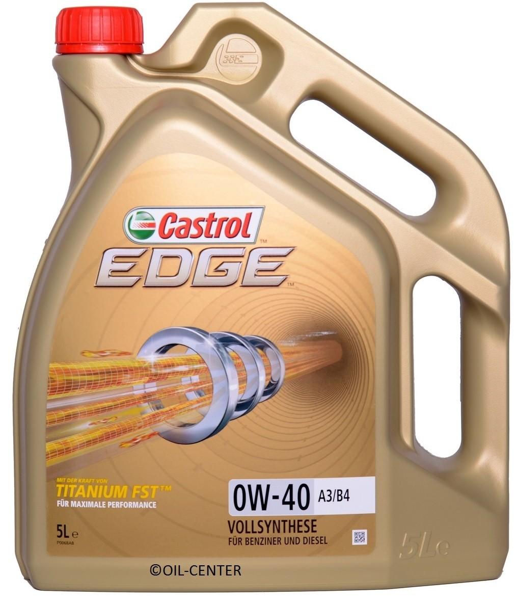 CASTROL OLEJ CASTROL 0W40 EDGE 4L 194350257