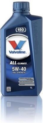 VALVOLINE OLEJ VALVOLINE 5W40 Climate ALL 1L diesel (505.00) VAL5W40DD1L