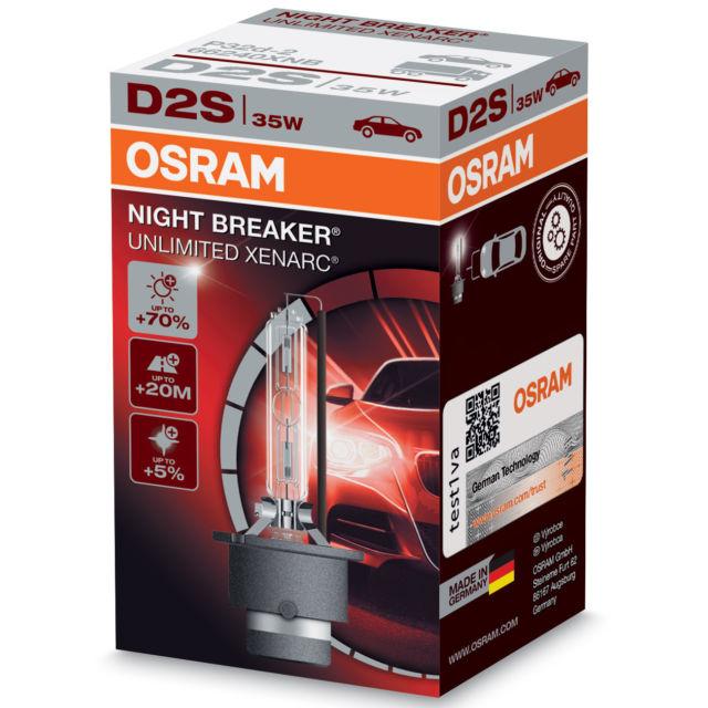 OSRAM ZIAROVKA 12V D2S Osram XENARC NBU 35 W 66240XNB