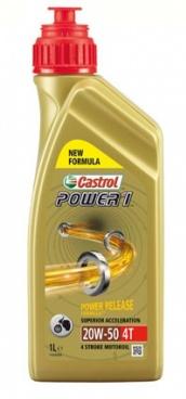CASTROL OLEJ CASTROL 4T POWER 1 1L 20W50 15049A