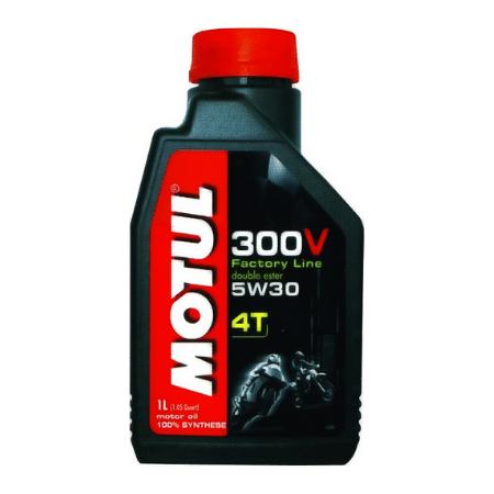 MOTUL OLEJ MOTUL 5W-30 300V FACTORYLINE 4T 1L 104108