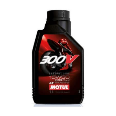 MOTUL OLEJ MOTUL 15W50 300V FACTORY LINE ROAD RACING 4T 1L 104125