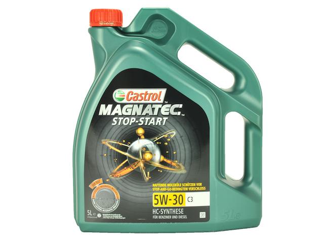 CASTROL CASTROL MAGNATEC 5W30 C3 START-STOP 5L 10841922
