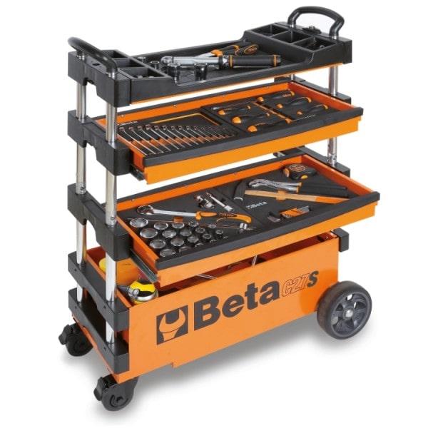 BETA TOOLS Beta Tools Skladací vozík na náradie C27S-O C27S-O