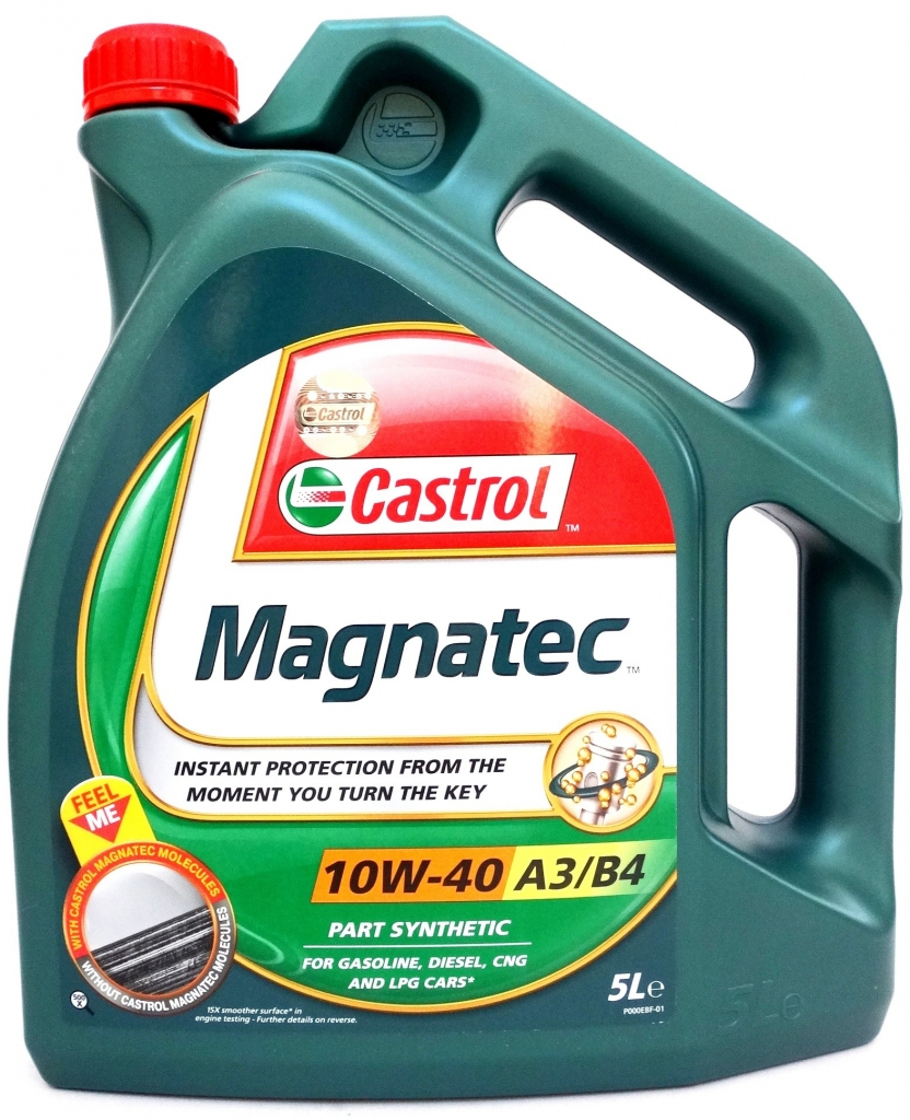 CASTROL OLEJ CASTROL 10W40 MAGNATEC 5L 192360100