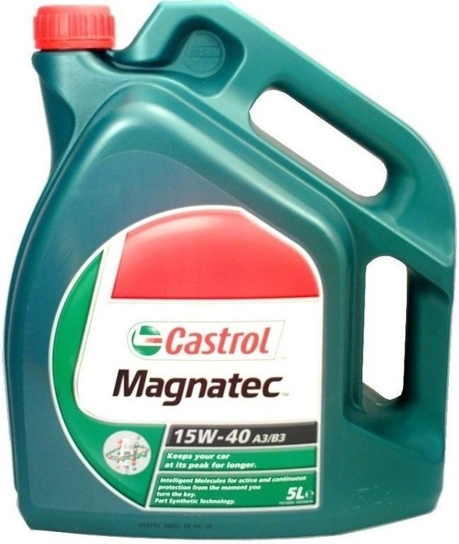 CASTROL OLEJ CASTROL 15W40 MAGNATEC 5L 192370100