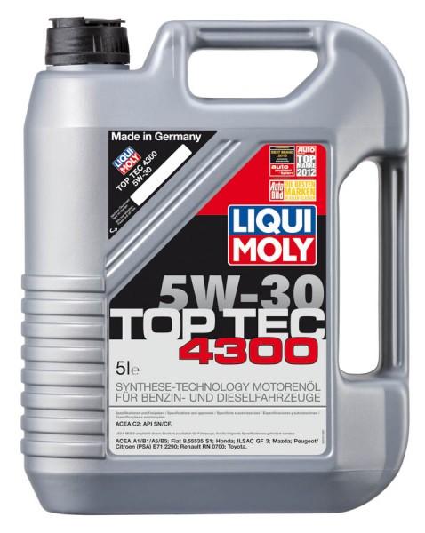 LIQUI MOLY OLEJ LM 5W30 TopTec 4300 5L LM3741